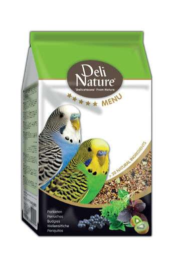 Deli Nature 5 Star menu - Budgies 800 g, 2.5 kg kjøp billig med rabatt