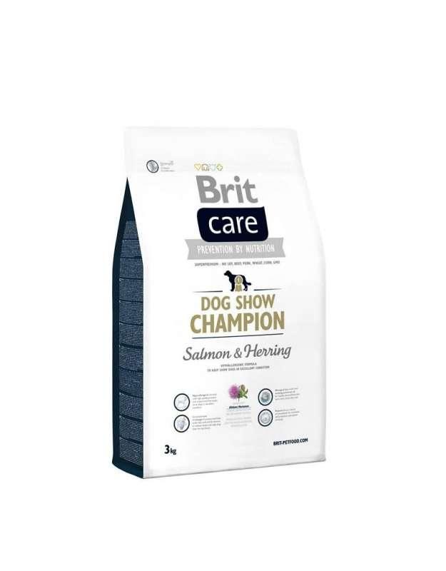 Brit Care Dog Show Champion med Laks & Sild 3 kg 8595602510412 anmeldelser