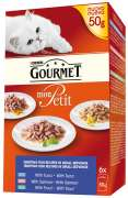 Purina Gourmet Mon Petit Fisk ( med Tunfisk, Laks, Forel) 50 g