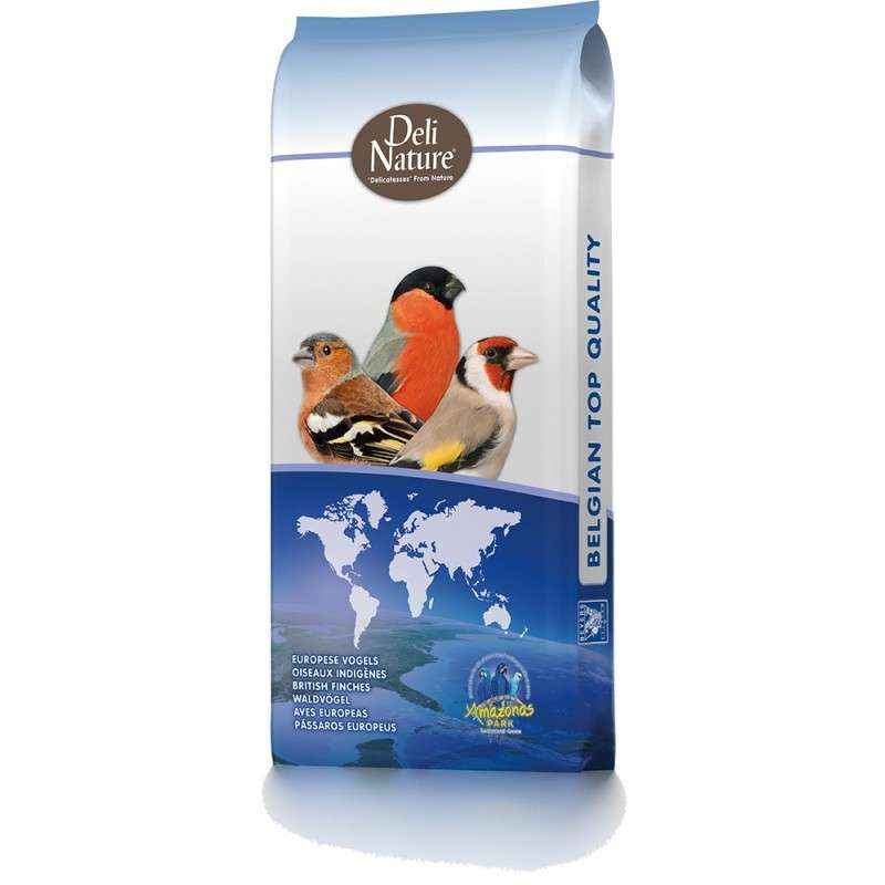 Deli Nature 96 Bullfinches 15 kg kjøp billig med rabatt
