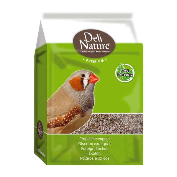 Deli Nature Premium - foreign finches 4 kg, 1 kg osta edullisesti