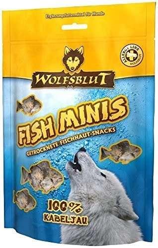 Friandises au poisson Cabillaud séché pour Chien 100 g  de chez Wolfsblut achats pas cher