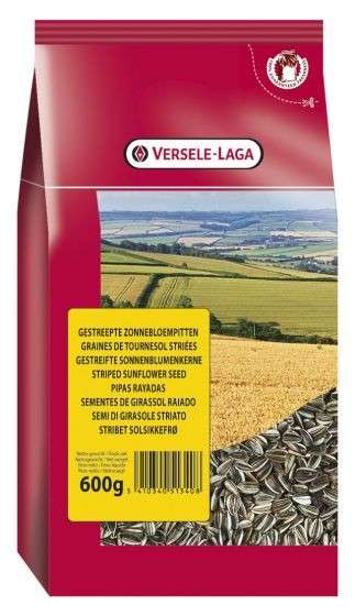 Versele Laga Striped sunflower seeds 600 g kjøp billig med rabatt