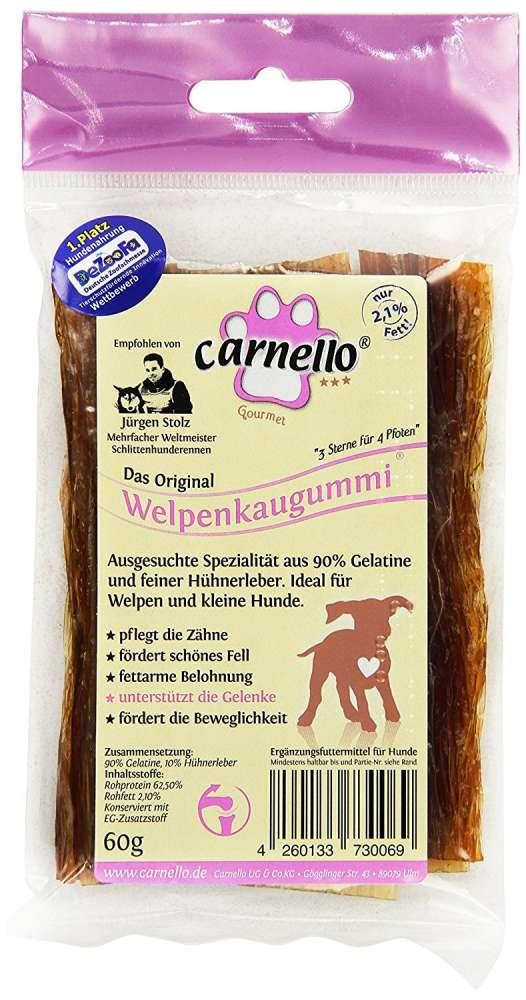 Hunde Kaugummi von Carnello 60 g online günstig kaufen