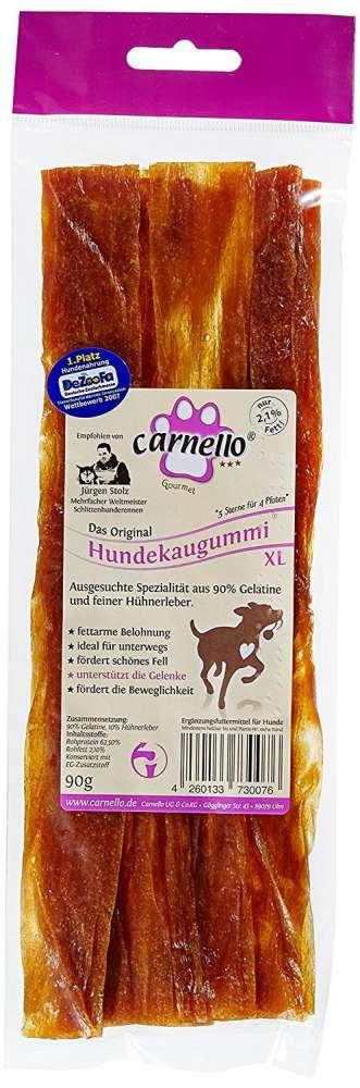 Carnello Gomme XL à mâcher pour Chien 90 g