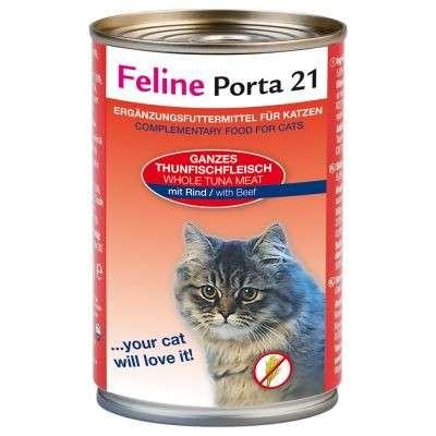 Feline Porta 21 Tuna & beef 400 g
