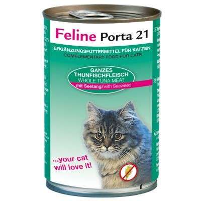 Feline Porta 21 Tuna & seaweed 400 g