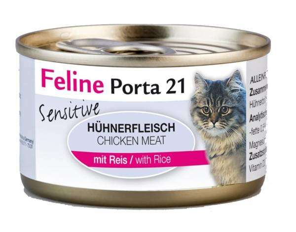 Feline Porta 21 Filete de Pollo con Arroz - Sensitive 90 g