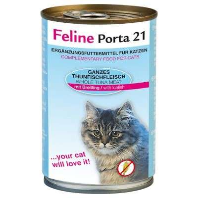 Feline Porta 21 Tuna/Icefish - Grain Free 400 g 4021158472903 anmeldelser