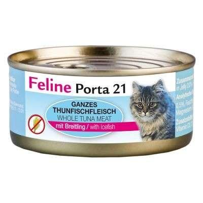 Feline Porta 21 Tuna/Icefish - Grain Free 156 g