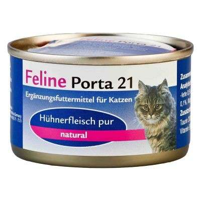 Feline Porta 21 Chicken pure natural 90 g, 400 g, 156 g test