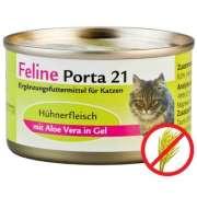 Feline Porta 21 Chicken & aloe - grain free 156 g