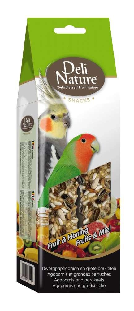 Deli Nature Agapornis and Parakeets Fruit & Honey 130 g kjøp billig med rabatt