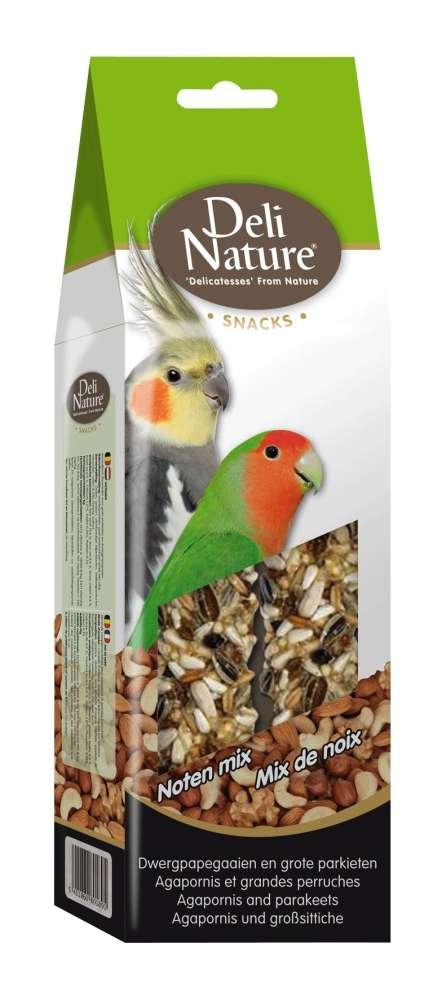 Deli Nature Agapornis and Parakeets Nuts mix 130 g kjøp billig med rabatt