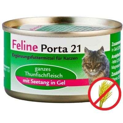 Feline Porta 21 Tuna & seaweed 90 g, 400 g, 156 g test