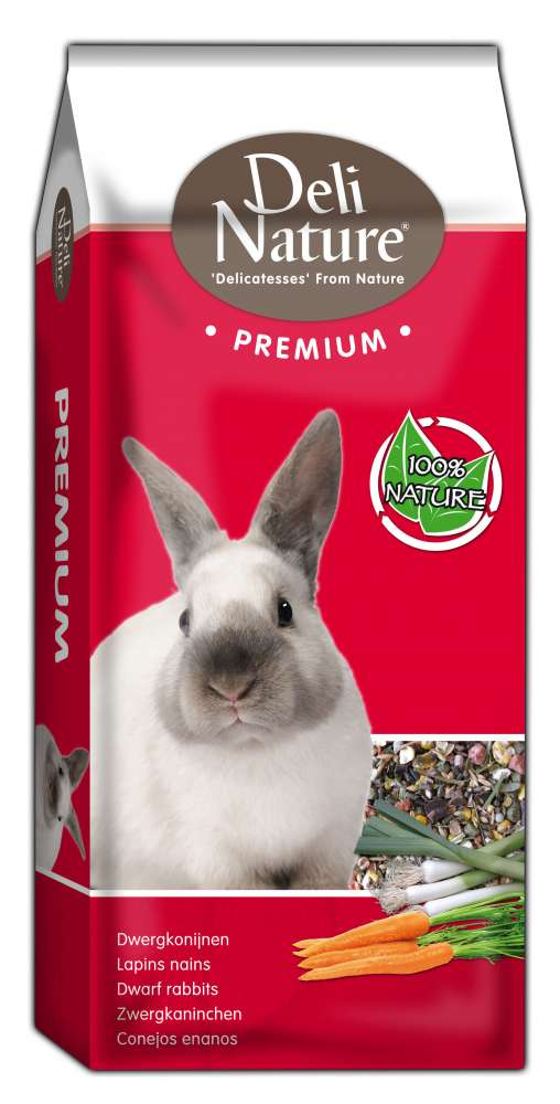 Deli Nature Premium - Dwarf Rabbits Junior 15 kg