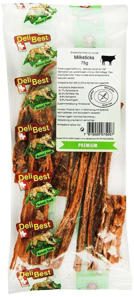 DeliBest Premium Milk sticks 75 g köp billiga på nätet