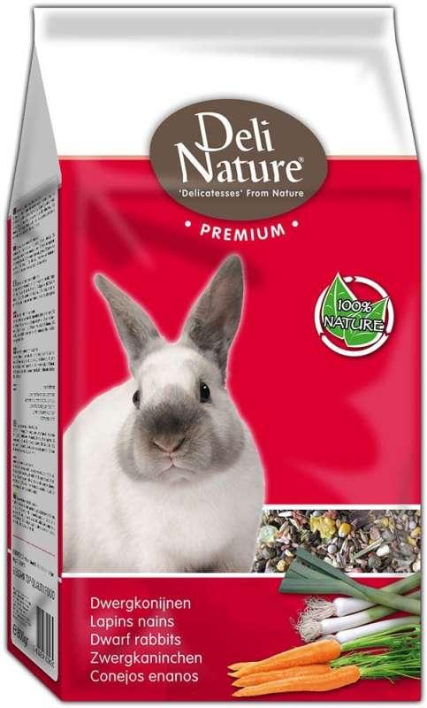 Deli Nature Premium - Kaninchen 15 kg, 3 kg, 800 g