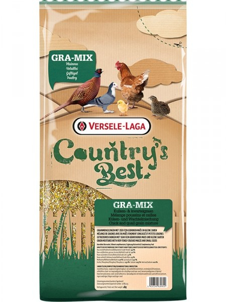Versele Laga Country's Best Gra-Mix kuiken- en kwartelgraan 4 kg 5410340630822