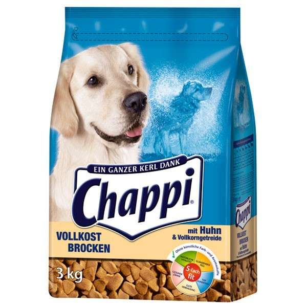 Chappi Wholegrain chunks with Chicken, Vegetables and Cereals 3 kg