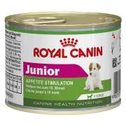 Royal Canin Canine Health Nutrition - Tin Mini Junior 195 g