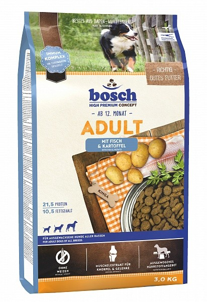 Bosch High Premium Concept - Adult with Fish & Potato 3 kg