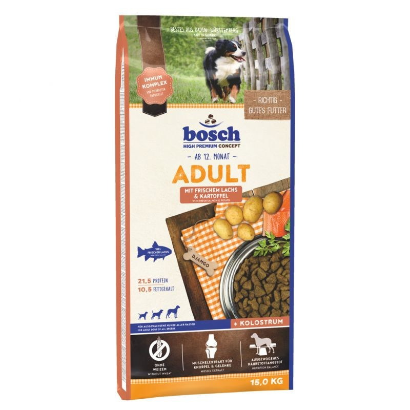 Bosch High Premium Concept - Adult with Fresh Salmon & Potato 15 kg