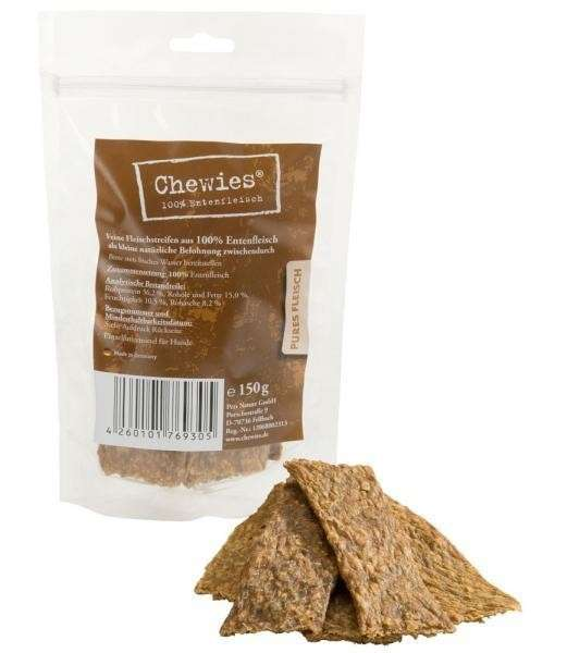 Chewies Duck meat strips 150 g
