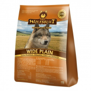 Wolfsblut Wide Plain Adult, Hourse meat, Sweet Potatoes, Herbs and Forest Berry 500 g