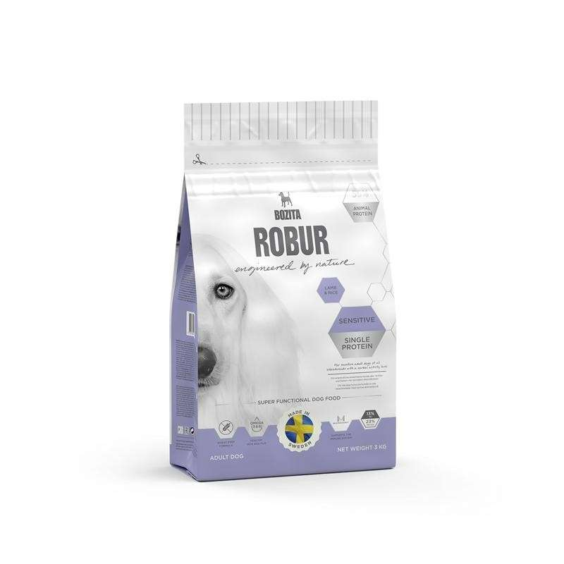 Bozita Robur Sensitive Single Protein Lamb & Rice 3 kg