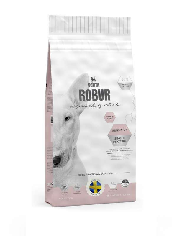 Robur Sensitive Single Protein Salmon & Rice 12.5 kg