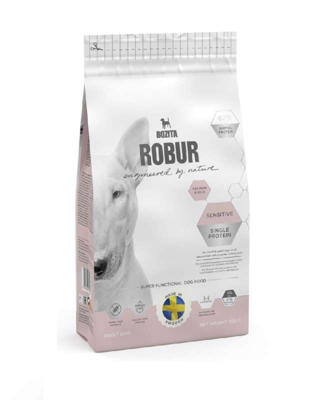 Bozita Robur Sensitive Single Protein Salmon & Rice 950 g 7311030148246