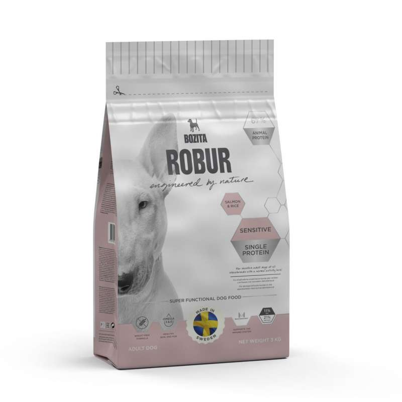 Bozita Robur Sensitive Single Protein Salmon & Rice 3 kg