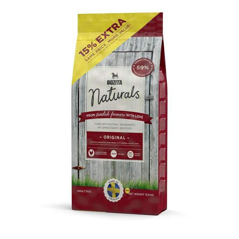 Bozita Naturals Original 13.8 kg köp billiga på nätet