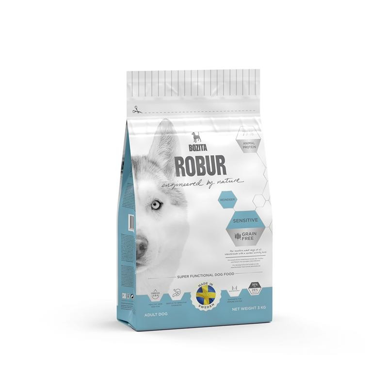 Bozita Robur Sensitive Grain Free Reindeer 3 kg