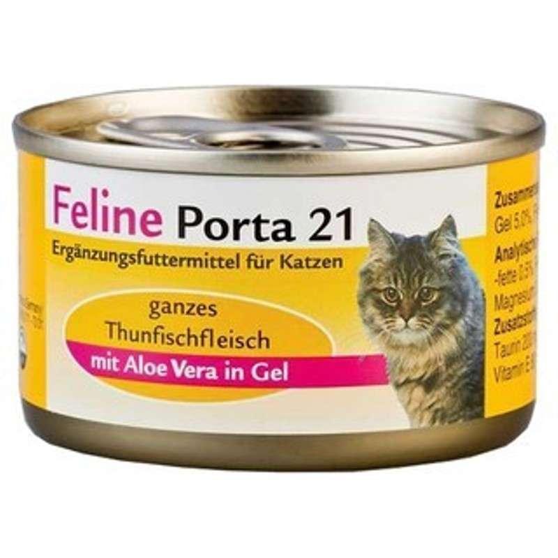 Feline Porta 21 Feline Porta 21 Blikje Tonijn met Aloe 156 g