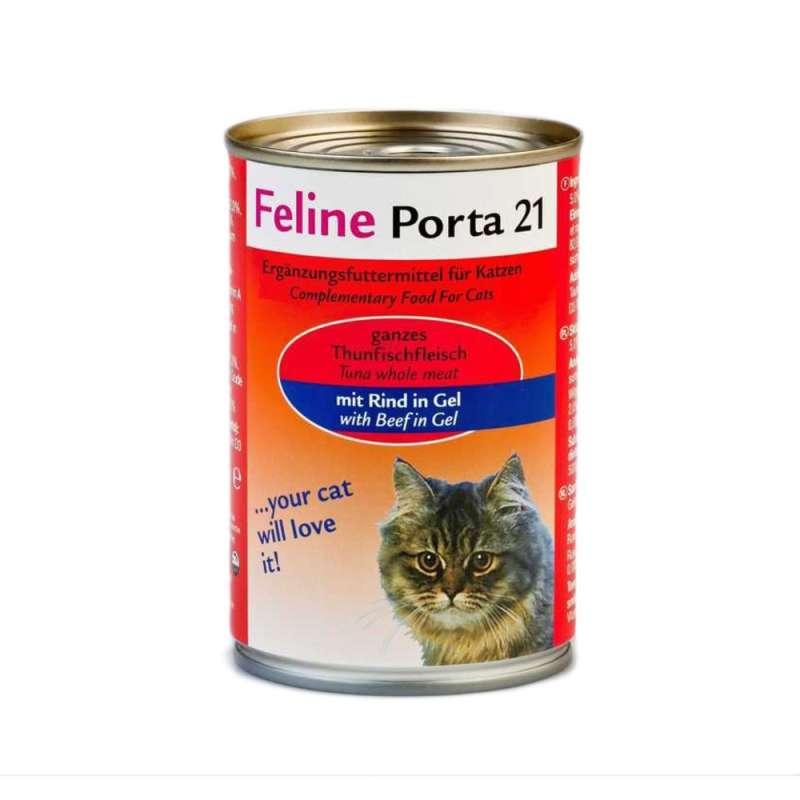 Feline Porta 21 Tun med okse 400 g