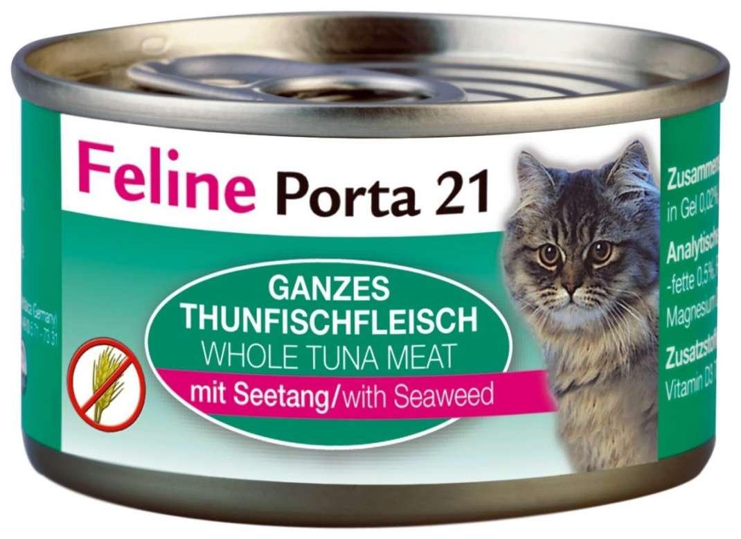 Feline Porta 21 Feline Porta 21 Blikje Tonijn met Zeewier 90 g