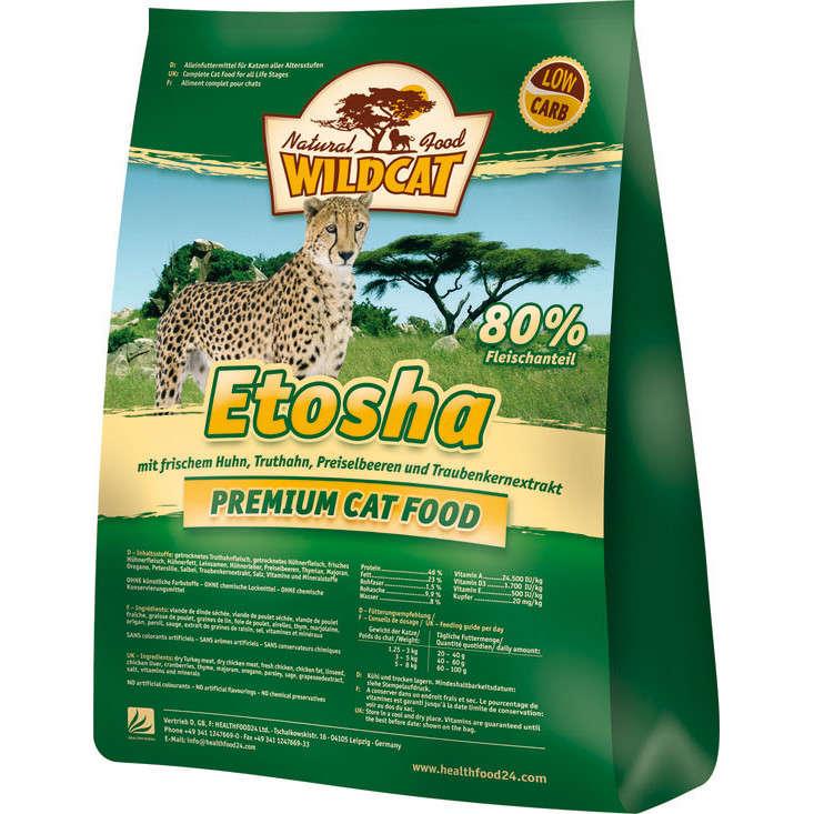 Wildcat Etosha Pollo y Pavo 500 g, 3 kg