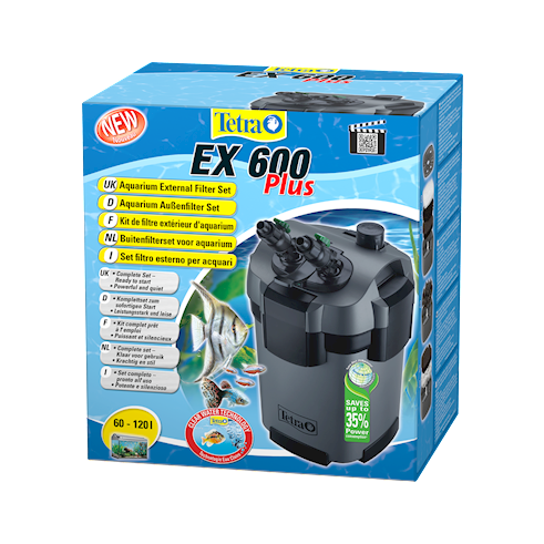 Tetra EX 600 plus complete buitenfilterset  EX 600 plus