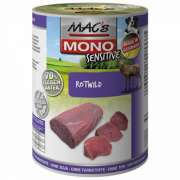 MAC's Dog Mono Sensitive - Red Deer canned 400 g