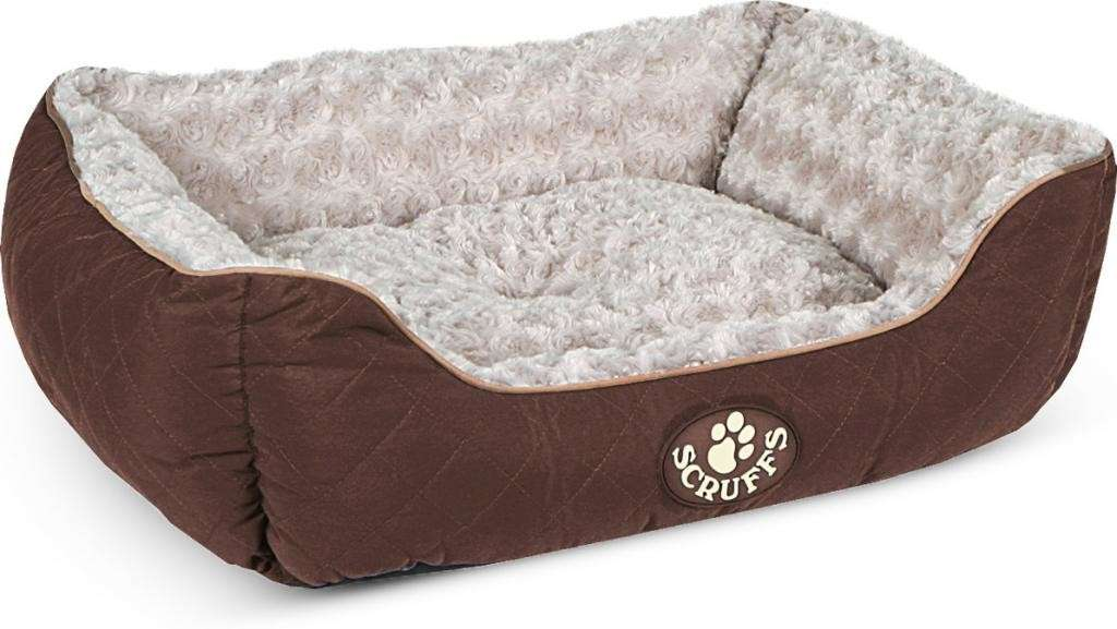 Scruffs Wilton Box Dog Bed Braun S