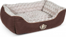 Wilton Box Dog Bed Brun