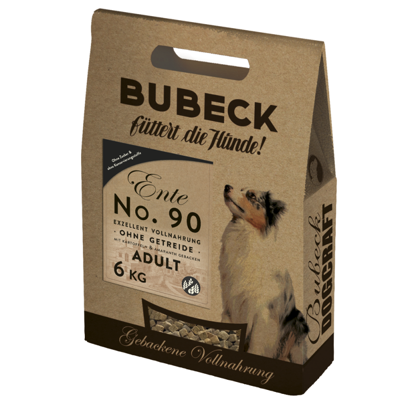 Bubeck No 90 Duck meat with Potato 6 kg