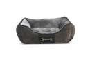 Soft dog beds Scruffs Chester Box Bed, Graphite Gray L