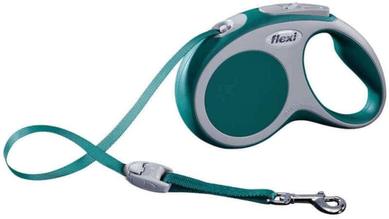 Flexi Vario Bandlijnen Turquoise M/5m