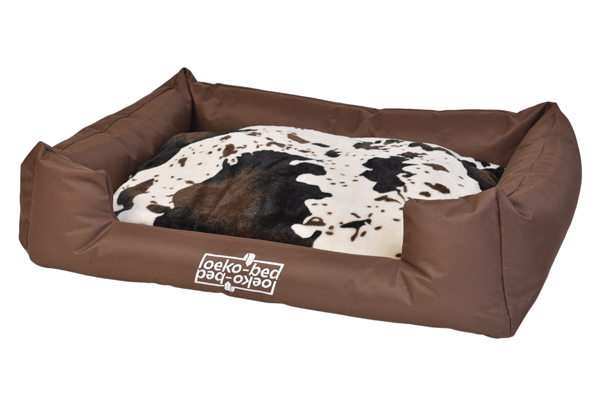 "Pakmas ""Oeko-Bed"" Double-Sided Dog Cushion in Plush S"