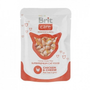 Brit Cat Chicken & Cheese Pouch 80 g