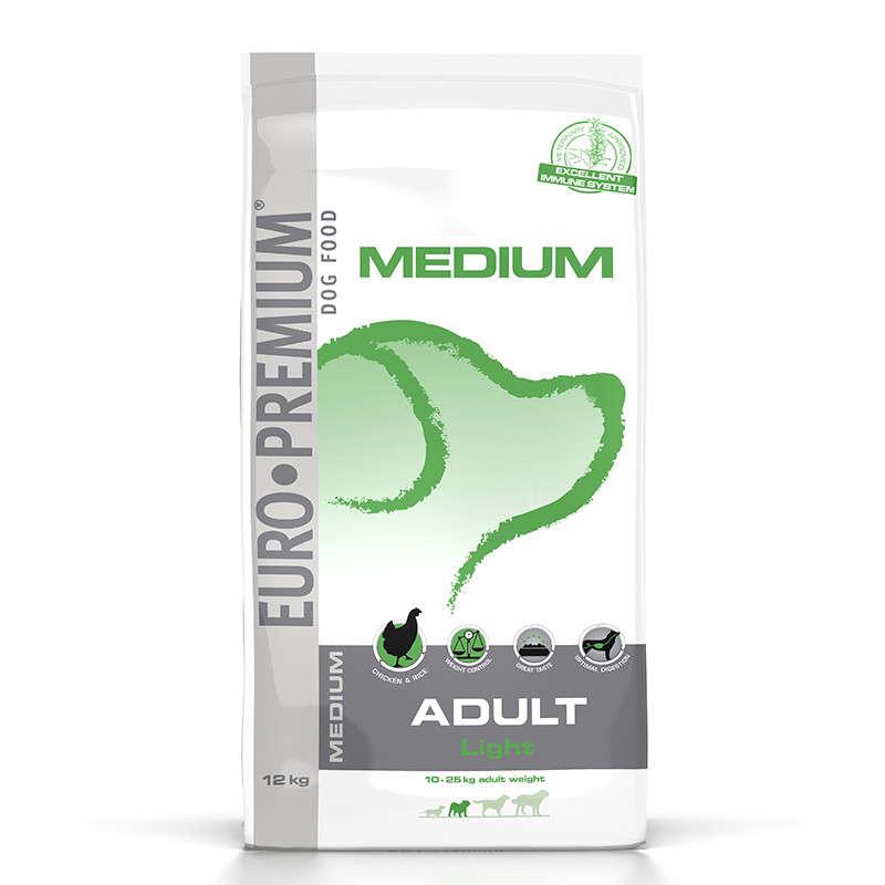 EURO-PREMIUM Medium Adult Light 3 kg, 12 kg