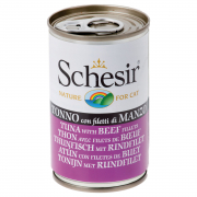 Schesir Tuna with Beef Fillet in cooking broth 140 g